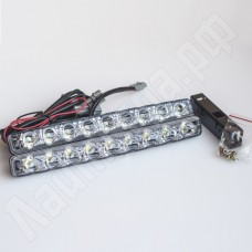 Комплект корпусных ДХО 9 led