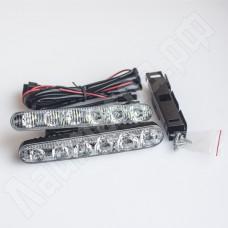 Комплект корпусных ДХО 6 led