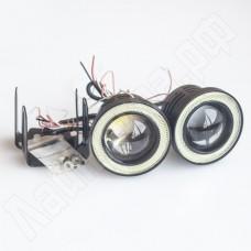 Комплект линз ДХО 76 мм с ангельскими глазками (тип А)