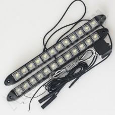 Комплект ДХО 9/12 LED (черный корпус)