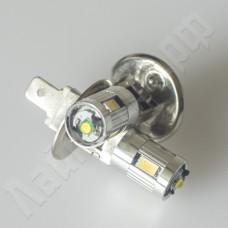 Светодиодная автолампа H1 5630*4+CREE