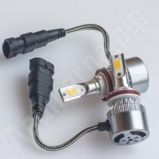 Комплект ламп головного света H11 C6 COB 6000 Лм