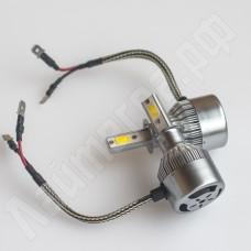 Комплект ламп головного света H3 C6 COB 6000 Лм