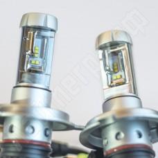 Комплект ламп головного света H4 x3 Philips ZES-2 6000 Лм