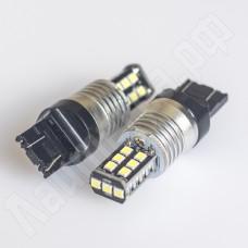 Светодиодная автолампа canbus T20-7443 W21W 15 SMD2835 12В белый