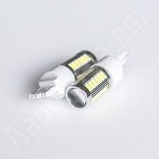 Светодиодная автолампа T20-7440 33*5630SMD с линзой