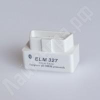 Сканер-адаптер ELM327 Bluetooth (белый) 2.1