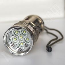 Светодиодный фонарь UltraFire 6 CREE XML T6 8000 Лм