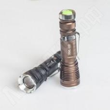 Светодиодный фонарь UltraFire CREE XML U2 черный/бронза