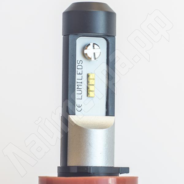 Установка светодиодных ламп в противотуманные фары